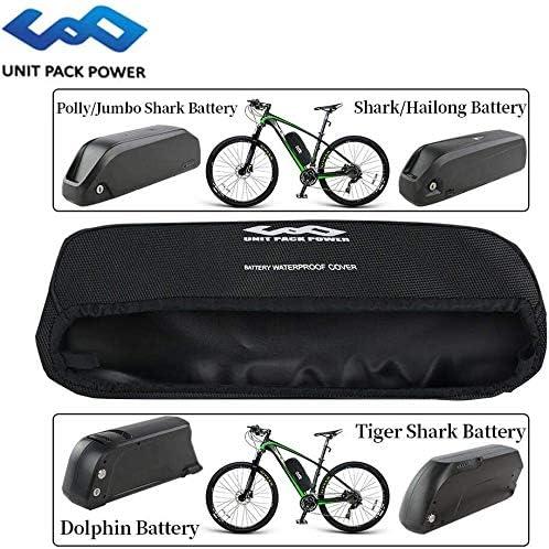 Unit Pack Power Batteria per Bici elettrica Borsa per Batteria Impermeabile per Batteria per Bicicletta elettrica Ebike Hailong Shark
