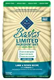 Blue Basics Limited Ingredient Diet Adult Large Breed Grain Free Lamb & Potato Dry Dog Food 22-Lb Review