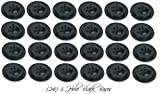 Wholesale Lot 24 Five Hole Black Bases For 4''x6'' Stick Desk Flags