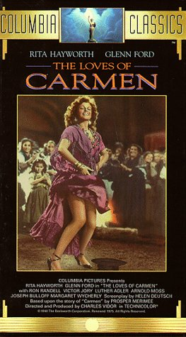 The Loves of Carmen [USA] [VHS]: Amazon.es: Rita Hayworth ...