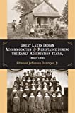 img - for Great Lakes Indian Accommodation and Resistance during the Early Reservation Years, 1850-1900 book / textbook / text book