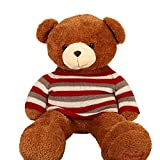 Huggable 4 feet Teddy bear for your Valentine. Special offer for Valentines Day.(High Quality)
