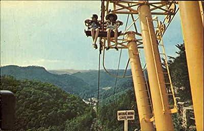 Sky Lift, Natural Bridge State Park Slade, Kentucky Original Vintage Postcard
