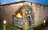 Banksy You Are An Acceptable Level of Threat and if