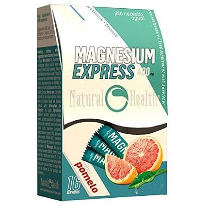 Natural Health - Magnesio Express 400mg - 16 sticks - Pomelo