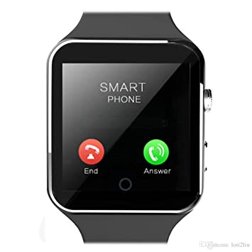 f60590e659e mobicell Bluetooth Certified Smart Watch with Camera and SIM Card Support  Compatible with All Android Devices  Amazon.in  Computers   Accessories