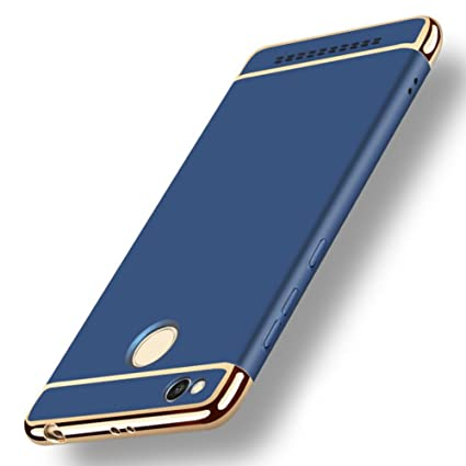 d05f3431763 GoldKart  3-in-1 Dual Layer Thin Back Cover Case for MI  Amazon.in   Electronics