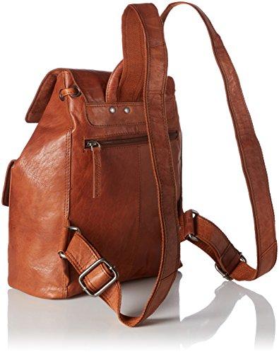Spikes amp; Sparrow Backpack Zaini Unisex - Adulto Marrone brandy
