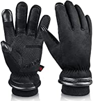 OZERO -30℉ Waterproof Winter Gloves for Men Touch Screen Thermal in Cold Weather for Motorcycle Cycling Drivin