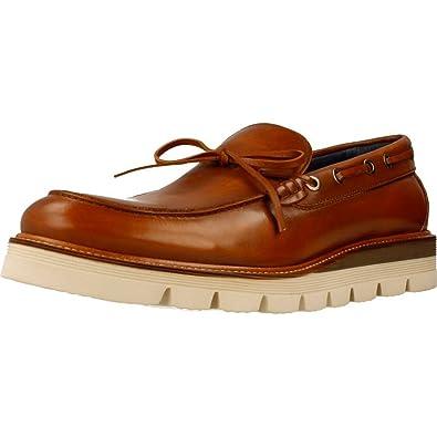 Mocasines para Hombre, Color marrón, Marca SERGIO SERRANO, Modelo Mocasines para Hombre SERGIO SERRANO 69107 Marrón: Amazon.es: Zapatos y complementos