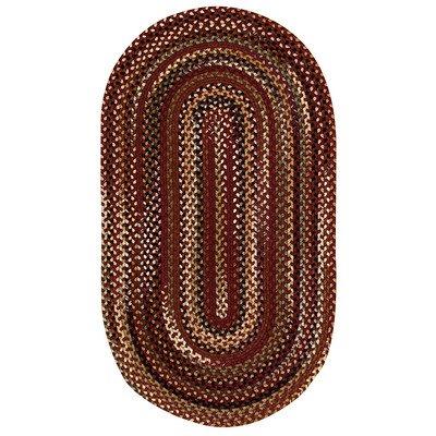 Bangor Cinnamon Rug Rug Size: Concentric 2' x 3'