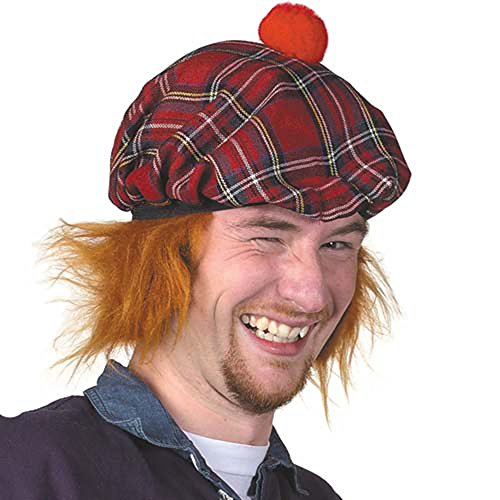 Scottish See You Jimmy' Hat - Tartan Tammy - Tam O Shanter -
