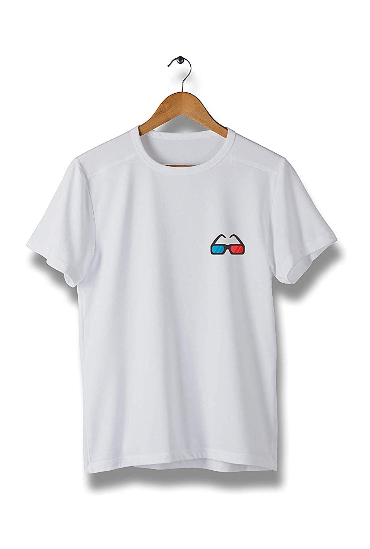 Modern Cool Tees for Men Kilsd Colorful 3D Lens T-Shirt Y090