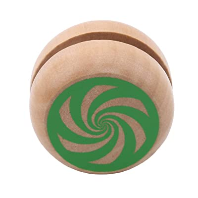 WEILYDF Yo-Yo Toy Classic Premium Safe Bearing Yoyo for Boys Girls Simple Wooden Toy Cute Yo-Yo Christmas Birthday Gift: Home & Kitchen