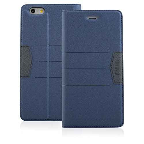 Good Quality Apple iphone 6 Case cover, Apple iPhone 6 Navy Blue Designer Style Wallet Case Cover