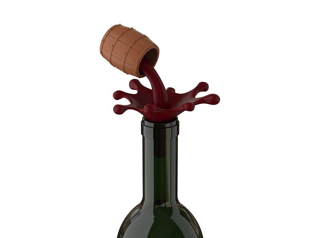 Hikalimedia Cute Barrel Wine Bottle Stopper