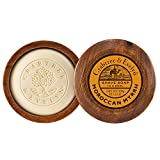 Crabtree & Evelyn Shave Soap In A Wooden Bowl, Moroccan Myrrh, 100g