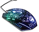 Ga Gadgets® Advanced / Pro 2400DPI LED 6 Button USB / Colour Changing Gaming Optical Mouse Mice for PC LAPTOP MAC