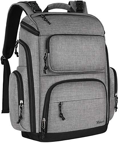 Dad Diaper Bag Backpack, Large Waterproof Baby Bags for Men Dad Mom