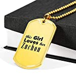 Zuchon - 18k Gold Finished Luxury Dog Tag Necklace Lover Owner Mom Birthday Gifts Jewelry 6