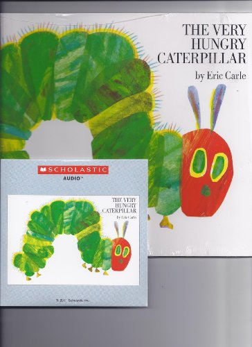 By Eric Carle The Very Hungry Caterpillar Paperback and CD [Audio CD]