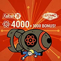 Fallout 76: 4000 (+1000 Bonus) Atoms  - PS4 [Digital Code]