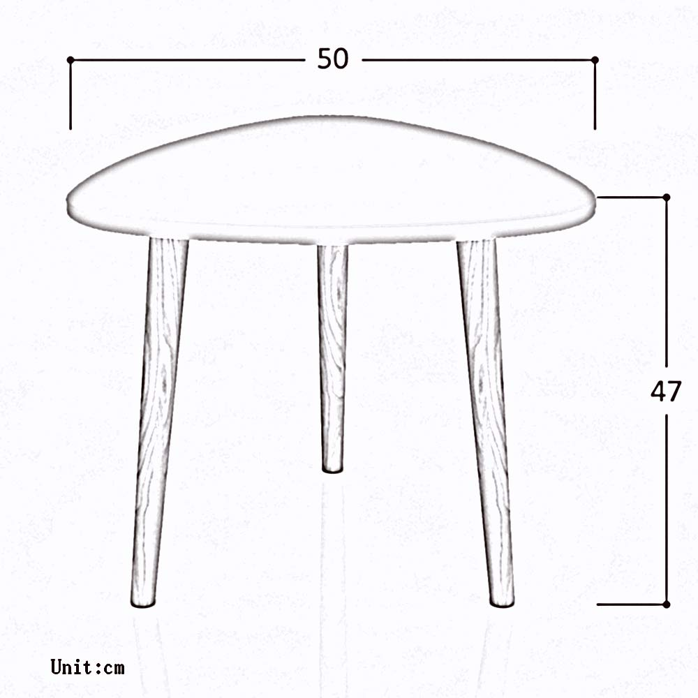 ghdonat.com Home & Kitchen Nesting Tables Stable Solid Wood ...