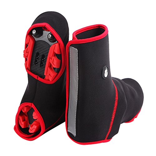 Dovewill Bike Bicycle Shoe Covers Cycling Shoecovers Road Bike MTB Winter Shoecover Windproof Warmer Overshoes