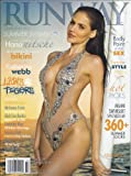 Runway Magazine Summer 2013(Hana Nitsche,Katherine Webb,Adrianna Costa)