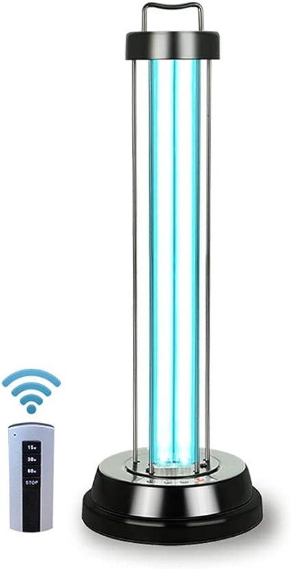 YZZR Lámpara de esterilización portátil Luz germicida UV Lámpara ...