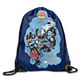 "The Nightmare Before Christmas Drawstring Backpack Gym Sack Bag 12.2"" X 10.2"" For Sale"