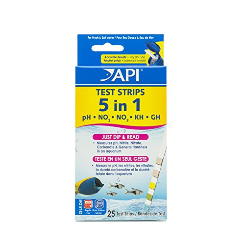 API TEST STRIPS Aquarium  Water Test Strips