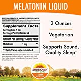 Sundown Sublingual Melatonin Liquid Cherry