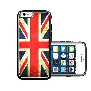 RCGrafix Brand United Kingdom British Union Jack Flag Grunge Distressed iPhone 6 Case - Fits NEW Apple iPhone 6 by supermalls