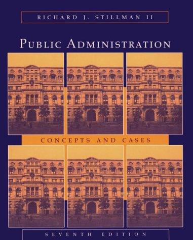 Public Administration 7 Edition
