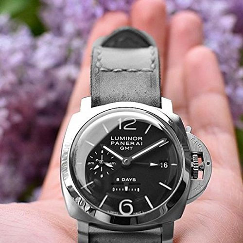 Custom 22mm Handmade Premium Calf Leather Watch Band Gunny Straps - Caitlin 5 by Gunny Store