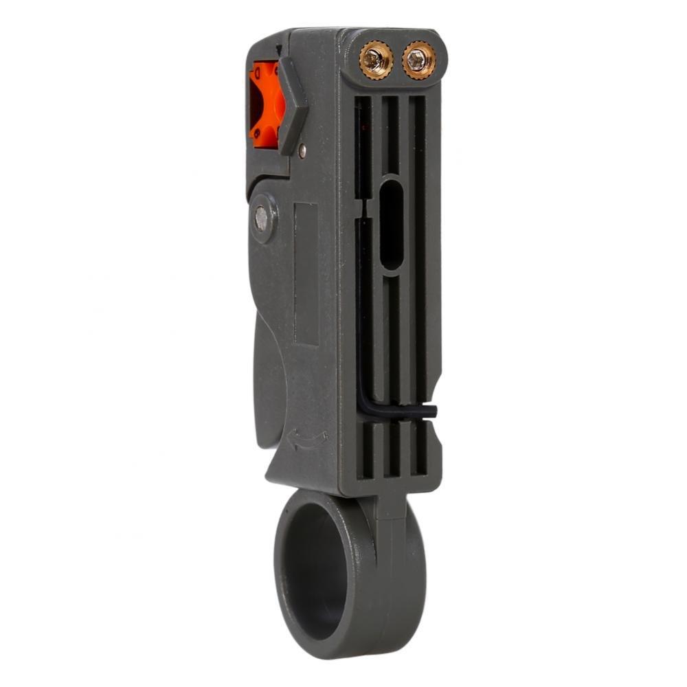 Lazmin Engarzador de Cable coaxial Pelacables rotativos RG6 Juego de Herramientas de compresi/ón coaxial Juego de Pelacables con F RG59 Incluye Conectores Herramientas