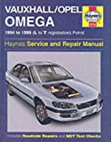 img - for Vauxhall/Opel Omega Service and Repair Manual (Haynes Service and Repair Manuals) book / textbook / text book