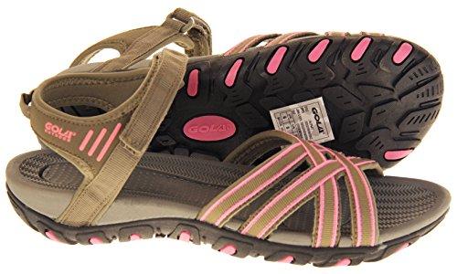 Y Mujer Zapatillas Sandalias Gris Rosa de Deportivas Gola Pardo Senderismo tqxw8Pqd