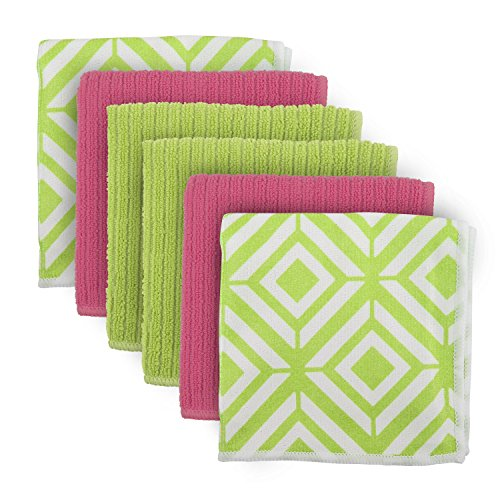 DII Cleaning Absorbent Microfiber Dishcloth