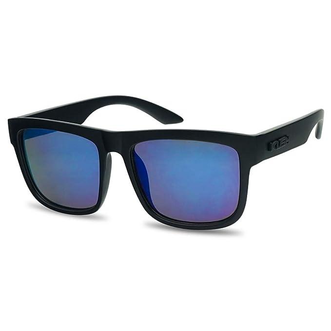 Amazon.com: Kush - Gafas de sol con montura cuadrada ...
