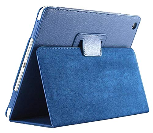 n PU Leather Case for Ipad Mini 1 2 3 Retina Retro Flip Flexible Stand Slim Cover,Blue ()