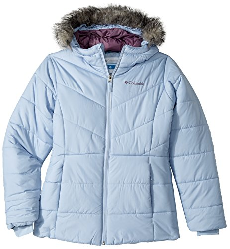 Columbia Big Girls' Katelyn Crest Jacket, Faded Sky, - Number Columbia Style