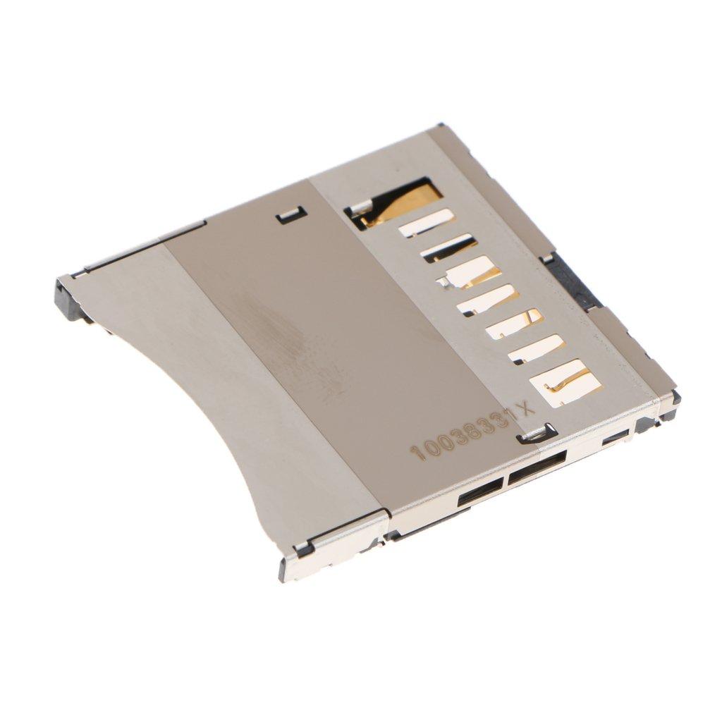 MagiDeal SD Memory Card Slot Holder Repair Replacement Part For Canon 650D 700D 6D G9 G7 SX20 5D3 5DS