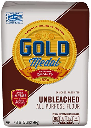 Gold Medal Unbleached All Purpose Presifted Flour 5 lbs