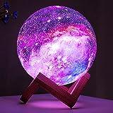 BRIGHTWORLD Moon Lamp Kids Night Light Galaxy Lamp