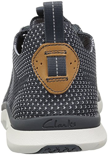 Clarks Mens Triken Run Sneaker Blu