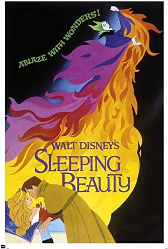 Vintage Sleeping Beauty Movie Poster//// Classic Disney Movie Poster////Movie Poster