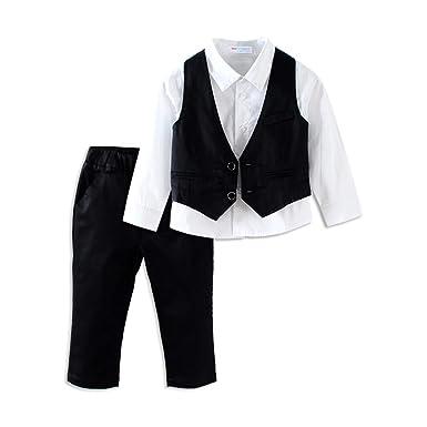 Amazon Mud Kingdom Boys Suits For Weddings White Shirts Vests