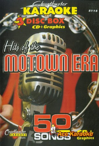 - Chartbuster Karaoke CDG 3 Disc Pack CB5115 - Hits of the Motown Era